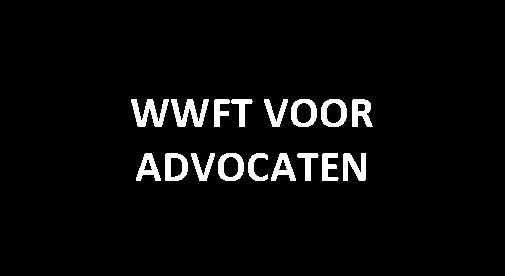 Afbeelding WWFT Voor Advocaten